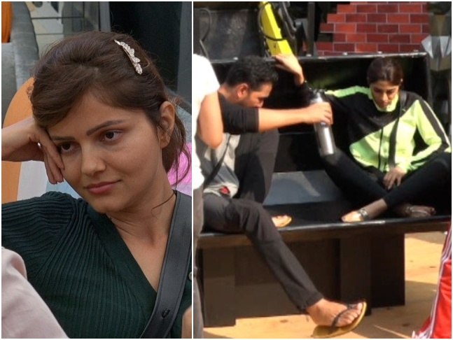 bigg boss season 14 update: Rubina and Abhinav lock horns