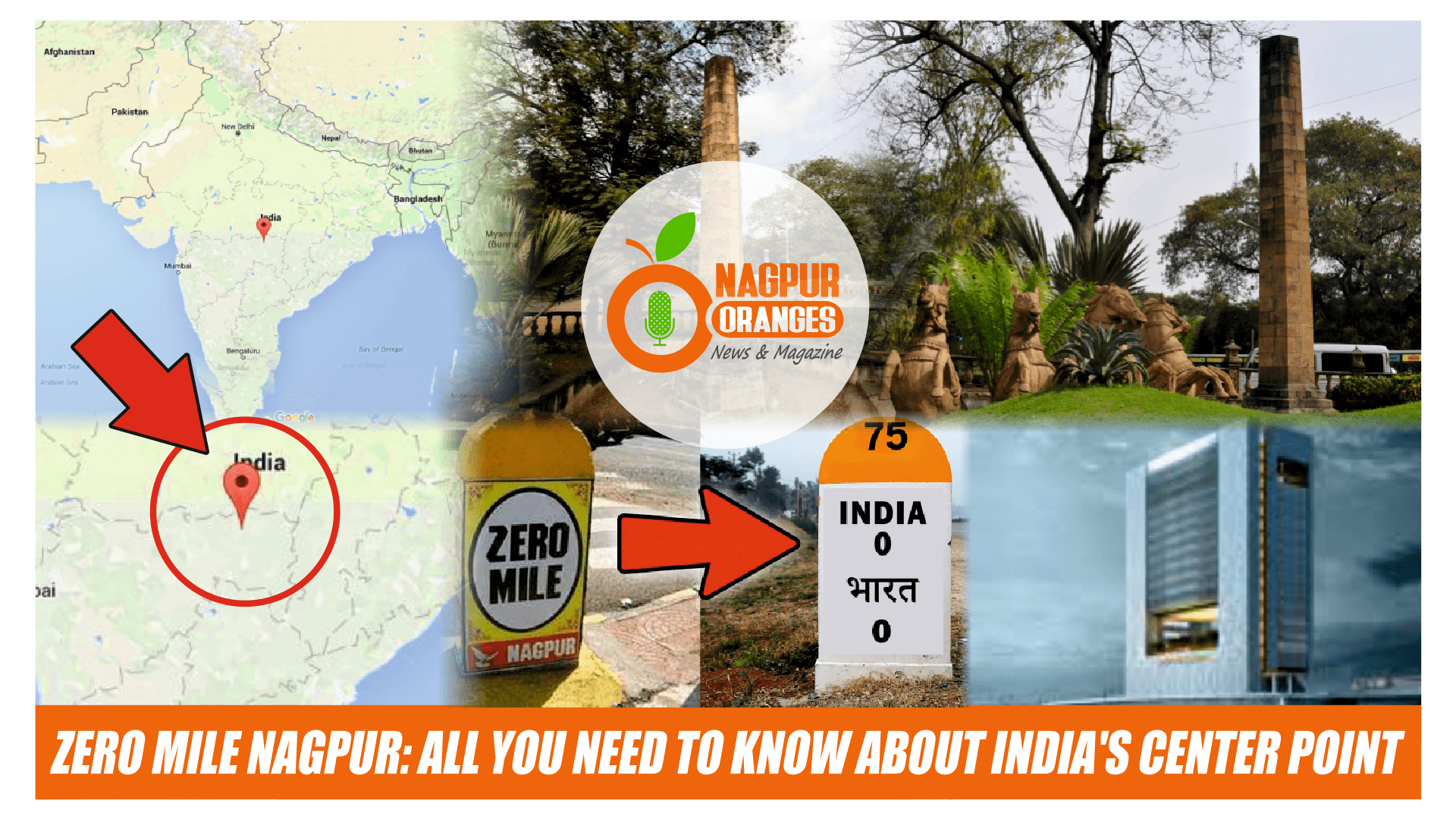 Photo of Zero Mile Nagpur: All You Need to Know about India's Center Point
