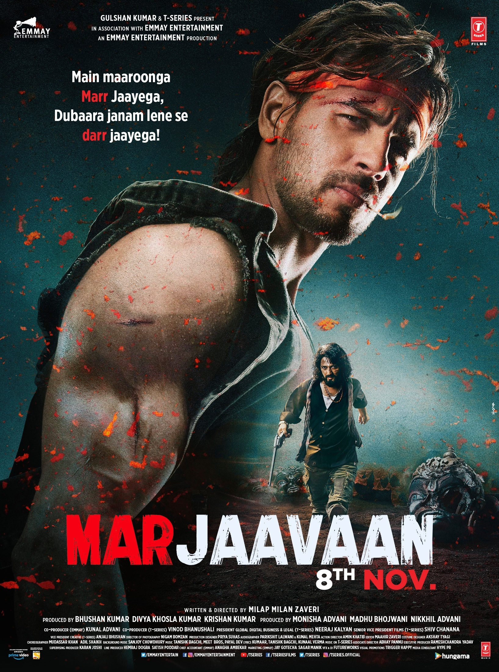 Photo of Marjaavaan to now release on 8th November