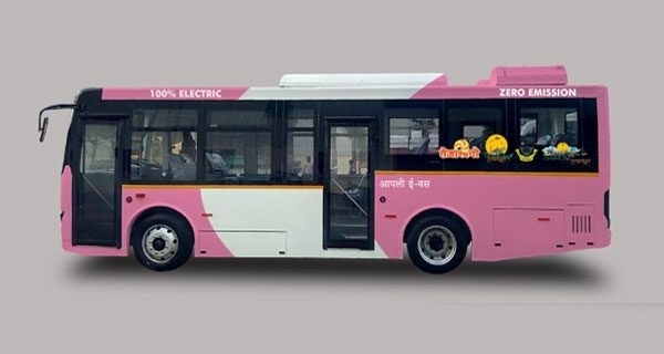 Nagpur e-bus for ladies