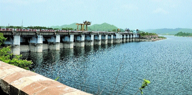 Water level in dams
