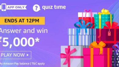 Photo of Amazon 27 Feb 2020 Quiz Answers – Play And Win 5000 Pay Balnce