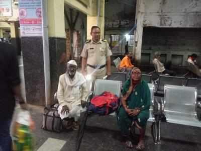 Police helped elderly