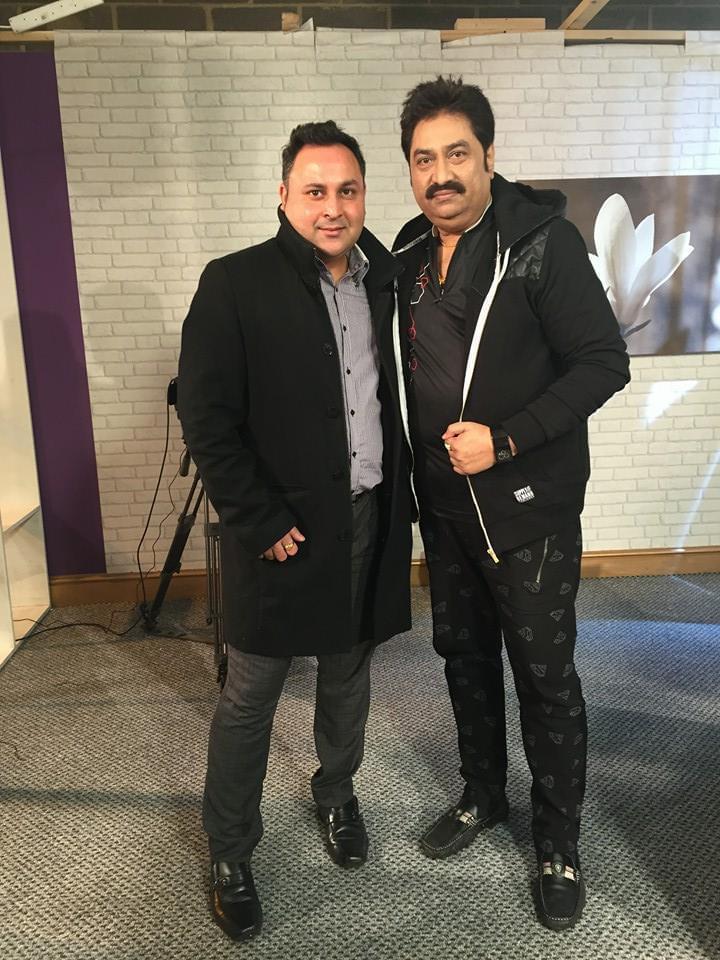 Jatin Grover and Kumar Sanu