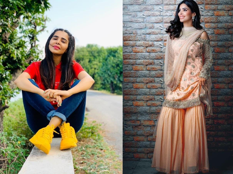 Actress Nivedita Chandel and Nooran Sisters