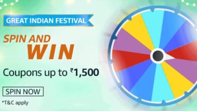 Amazon 28 Answers Great Indian Festival Spin And Win