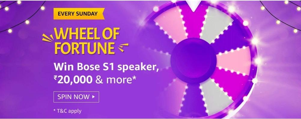 Amazon 2nd Aug Wheel Of Fortune Quiz Answer