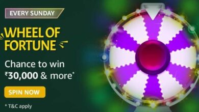 Amazon 6th June 2021 Wheel Of Fortune Quiz Answers