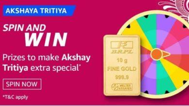 Amazon Akshaya Tritiya Quiz Answers