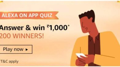 Amazon Alexa on App Quiz Answers