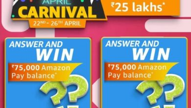 Amazon April Carnival Edition Quiz Answers