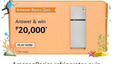 Amazon Basics Quiz Ans