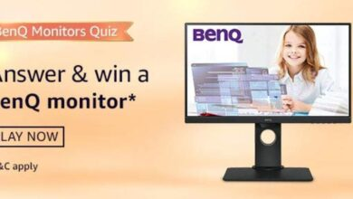 Amazon BenQ Monitor Quiz Answers