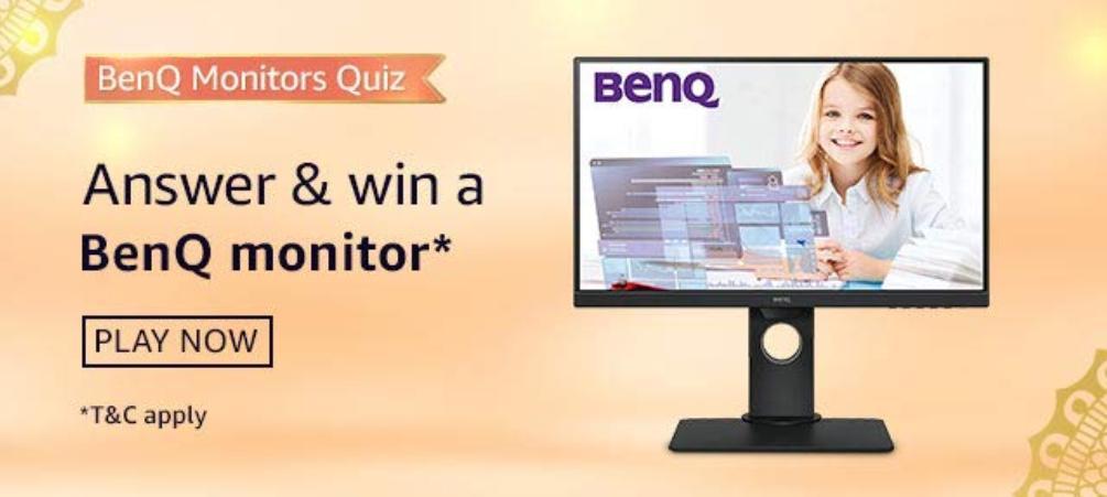 Amazon BenQ Monitor Quiz Answers