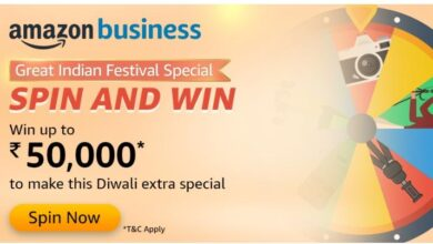 Photo of Amazon Business Quiz Answers: Spin And Win Prize Worth Rs 50,000 Pay Balance
