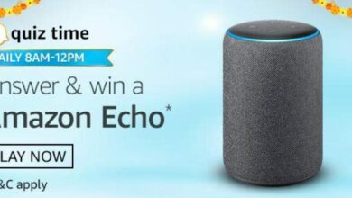 Photo of Amazon Shop & Win Quiz Answers : Chance to win OPPO F17 Everyday