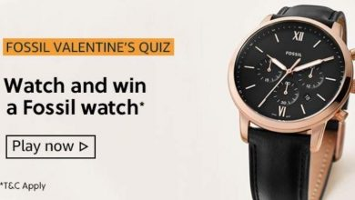 Amazon Fossil Valentines Quiz