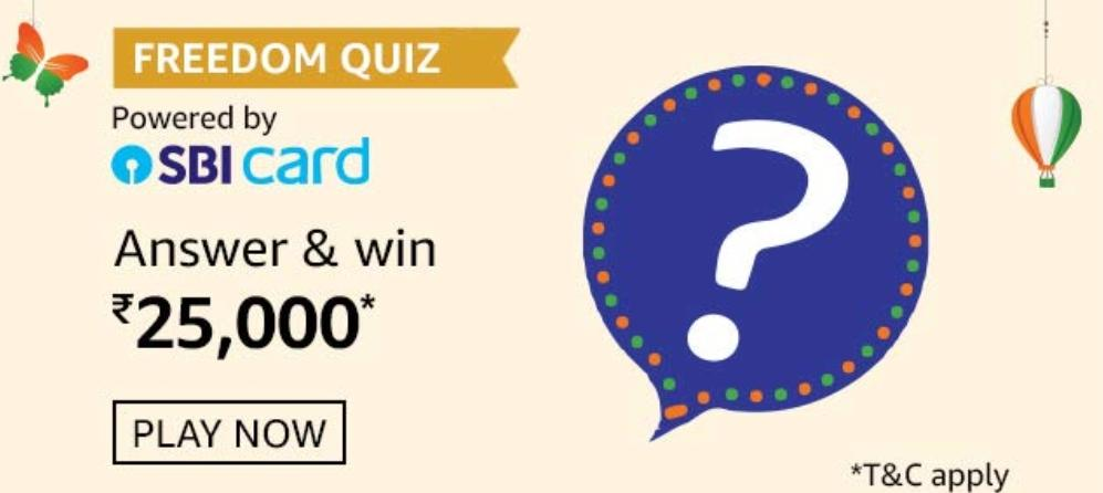 Amazon Freedom Quiz Answers