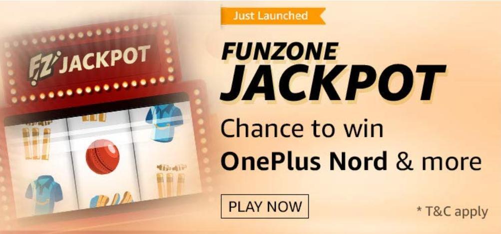 Amazon Funzone Jackpot Quiz Answers