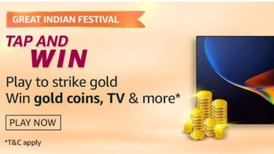 Amazon Great Indian Festival Tap And Win Quiz Ans