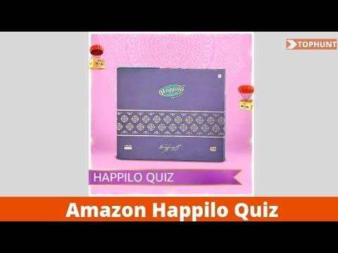 Amazon Happilo Quiz Answers