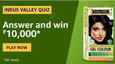 Amazon Indus Valley Quiz Answers