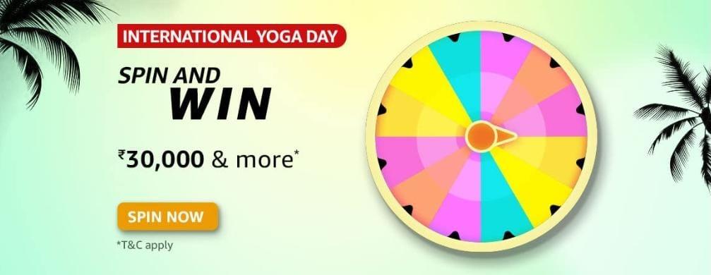 Amazon International Yoga Day