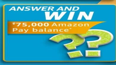 Amazon June Carnival Answer And Win Quiz Details