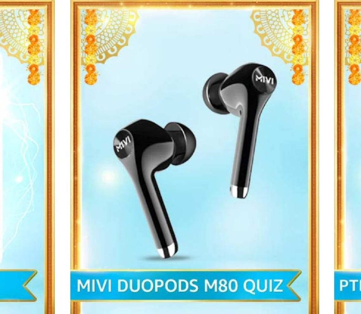 Amazon MIVI Duopods M80 Quiz Answers
