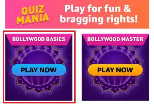 Amazon Mania Bollywood Basic