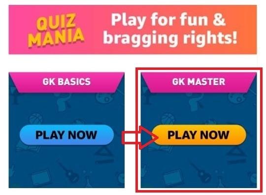 Amazon Mania GK Master Quiz
