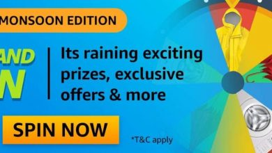 Photo of Amazon Monsoon Edition Spin And Win Quiz Answers : Play And Win Multiple Prizes