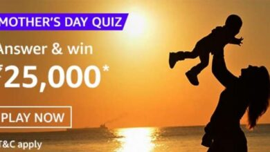 Amazon Mothers Day Quiz Answers
