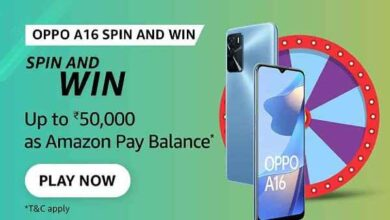 Amazon OPPO A16 Spin & Win Quiz Answers