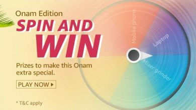 Photo of Amazon Onam Edition Quiz Answers – Spin And Win Laptop, Mobile And Many More