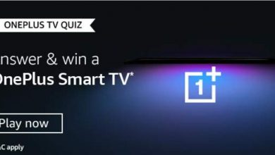 Amazon OnePlus TV Quiz Answers