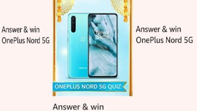 Photo of Amazon OnePlus Nord Quiz Answers: Participate And Win OnePlus Nord 5G Mobile (3 Winners)