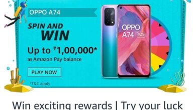 Amazon Oppo A74 Spin And Win Quiz Answers