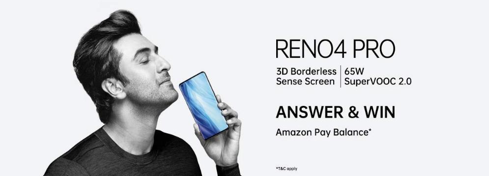 Amazon Oppo Reno4 Pro Quiz