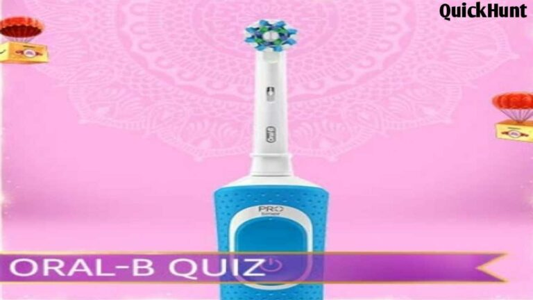 Amazon Oral-B Oral Care Quiz Answers