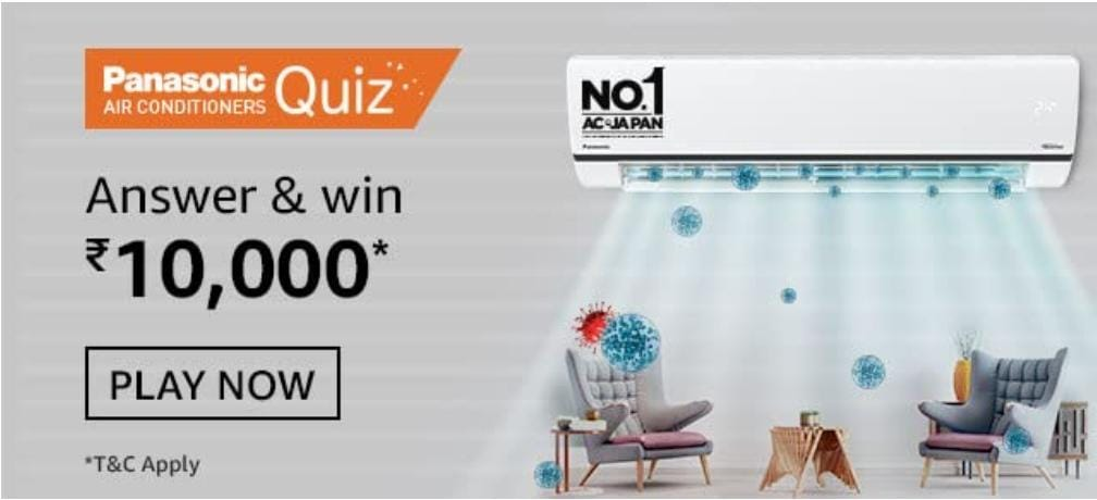Amazon Panasonic Air Conditioner Quiz Answers: