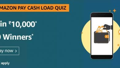 Amazon Pay Cash Load Quiz Ans