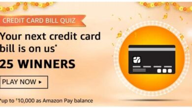 Amazon Pay Credit Card Bill Quiz