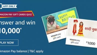 Amazon Pay Gift Card Quiz Answers