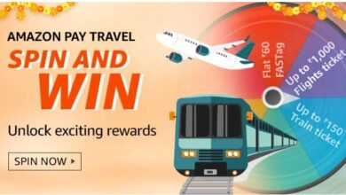 Photo of Amazon Pay Travel Spin and Win Quiz Answers : Win Discount From 10-20% on Ticket Booking