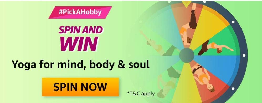 Amazon Pick A Hobby Yoga Edition