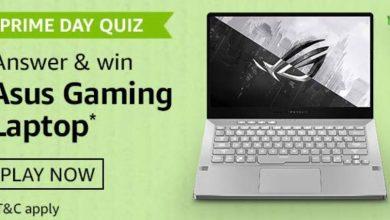 Asus Gaming Laptop Prime Day Quiz