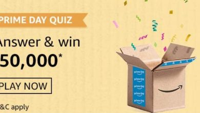 Photo of Amazon Prime Day Quiz 2 Answers: Participate And Win Rs 50,000 Rs (24th July 2020)