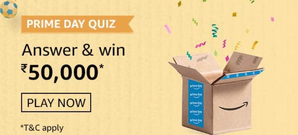 Amazon Prime Day Quiz 2