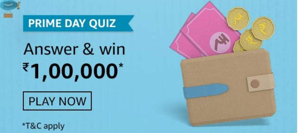 Amazon Prime Day Quiz